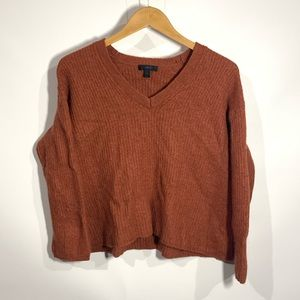 J. Crew knitted v-neck sweater
